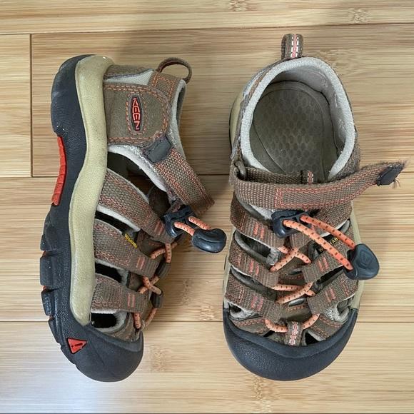 Keen Brown and Orange Newport H2 Sandal - 10